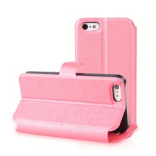 fashion cell phone case pu leather stand case for iphone 5 plastic wallet case for iphone 5