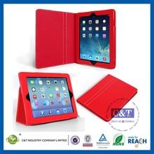 Portable Custom leather case for ipad 3 4