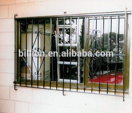 Window Safety Grills Design Solid Bar - Buy Iron Window Safety Grills ...