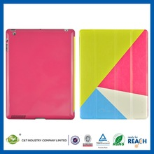 2014 Promotion Item leather skin case for ipad 3