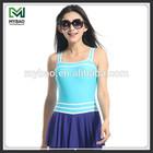 Customized cheap girls dresses girls 7-16 swimwear