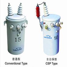 pole mounted distribution transformer