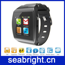 New Arrival! Magic Smart Cell Phone Watch with Sim Card Slot M6 can Sync SMS Skype with Android phone