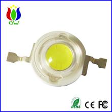 High intensity 3 watt white led by bridgelux chip made from shanghai