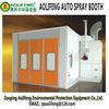 paint spray booth design