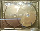 2014 hot sale 24k gold collagen breast firming masks, gainly breast enlargement mask