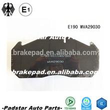models truck mercedes benz Truck Brake Pad Product mitsubishi tractors parts 29030 ECE R90 hi-q spare disc C.V. brake pad