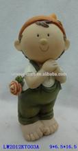 Lovely souvenir items small resin angel figurine