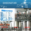 Excellent performance automatic bottling line pet