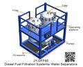 Jy-dff60 alta- perfomance diesel de aceite filtro de la máquina para la industria militar