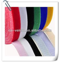 velcro hook and loop/ magic fabric use in bag garments