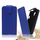 Fast delivery !!! leather flip case cover for samsung galaxy ace 2 i8160