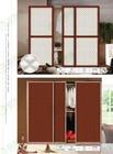 Hot sell aluminium profile sliding wardrobe door