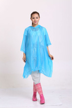 Promotional fashionable adult rain poncho popular in Europe