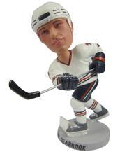 polyresin hockey bobble head customize design
