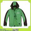 OEM men's outdoor green waterproof windbreaker jacket