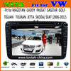"vw magotan 2din car video with 8"" Capacitive touch Screen With Android4.1 IPOD BT ATV 1GB DDR3 Radio AUX IN CAN BU TA8051"