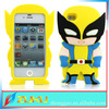 2014 latest hot fashion Wolverine 3D case for iphone 4/4s
