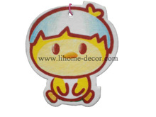 Shenzhen Lihome export cartoon design haning paper air freshener for car/paper car air freshener/paper car freshener