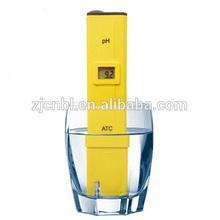 Digital Pen-type pH Meter Tester with Long Probe Hydroponic Aquarium ATC
