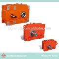 especial montagem horizontal unidades de engrenagem helicoidal