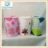 Decorative laundry hamper 100% polyester laundry bin pop-up hamper