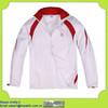 fashion design good quality white baseball jackets manufacturer in China