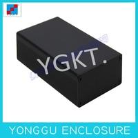 64*23.5*110mm Brush black aluminium shell for auto electronic part