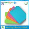 Foldable fruit/vegetables plastic chopping board