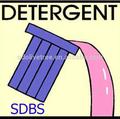 De sodio lineal alquil benceno sulfonato de detergente, de la liga