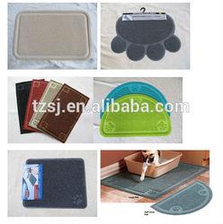 pet toilet mat/cat litter mat/pet cleaning mat