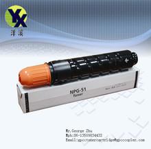 empty copier toner cartridge NPG51/GPR35/C-EXV33 for Canon/NPG51/GPR35/C-EXV33 empty toners cartridge for canon IR2525/2520/2530