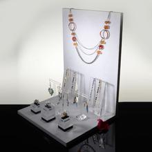 2014 pop white acrylic jewelry organizer drawer holder