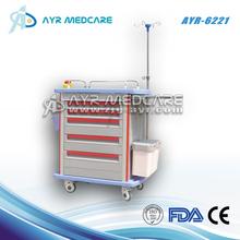 crash cart trolley AYR-6221