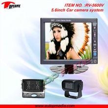 "RV-5600V 5.6"" High Definition Screen 360 degree car camera system for Vans/trucks/buses/motor homes"