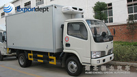 dongfeng mini 2 ton truck trailer body cargo van body for sale,chinese manufacturer