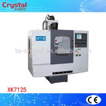 CNC drawing and milling machine universal milling lathe machine XK7125