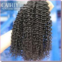 Fast Delivery 6A Grade Deep Wave Noble Human Virgin Hair Weaving Peru Hair