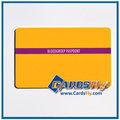 Alta calidad de la tarjeta de crédito tamaño cr80 tarjeta de visita de dimensiones