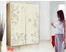 CKUV Color Painted MDF UV Board MH-0305 green bedroom furniture for kids modern wood bedroom furniture