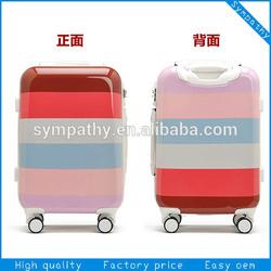 wheeled hard suitcase with tsa locks/suitcase set
