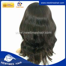 Jewish virgin european human hair wigs