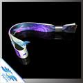 La venta caliente!! De recuerdos!! Libre diseño de la tela de colores pulsera de plástico con cerradura de la diapositiva