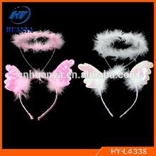Angel wigs hairband angel halo headband for kids