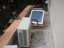 solar air condition 100% 9000-42000BTU solar powered+hybrid