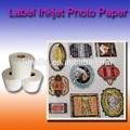 Atacado 140*275mm cd label inkjet papel fotográfico gsm 100