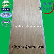 Haining Yafa Wooden Lamination Pvc Wall Panel