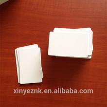 125KHZ R/W T5577 Chip RFID Proximity Card Blank ,Cr80 Size