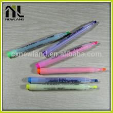 Transparen promotion plastic custom magic highlighter luxury logo indelible perfume gift color marker water erasable pen