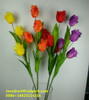 Artificial silk fabric tulip flower/china fabric tulip flowers/artificial tulip flowers